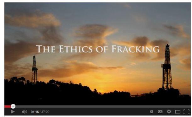 ethics of fracking
